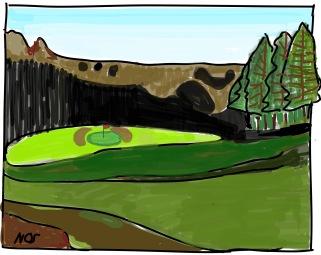 Buca #1 Golf Club La Pinetina