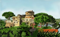 Il castello di Portofino
