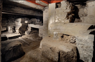 resti mura romane
